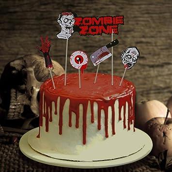Halloween Cake Toppers 9 Pcs Cupcake