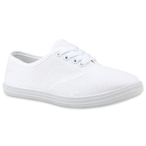 Flandell Stiefelparadies Übergrößen Low Sneaker Unisex Herren Damen lK31cTFJ