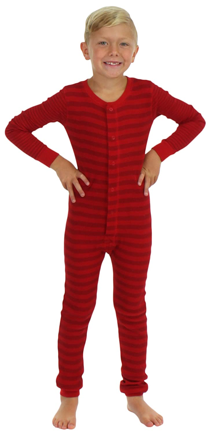 2e0dc3031 Amazon.com  Sleepyheads Boys and Girls Thermal Union Suit Without ...