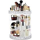 Salandens Organizador de Maquillaje, 360 Grados de rotación Organizador de Maquillaje Caja de Almacenamiento de cosméticos mu