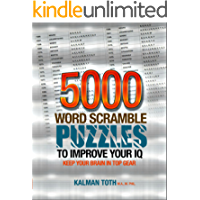 5000 Word Scramble Puzzles to Improve Your IQ