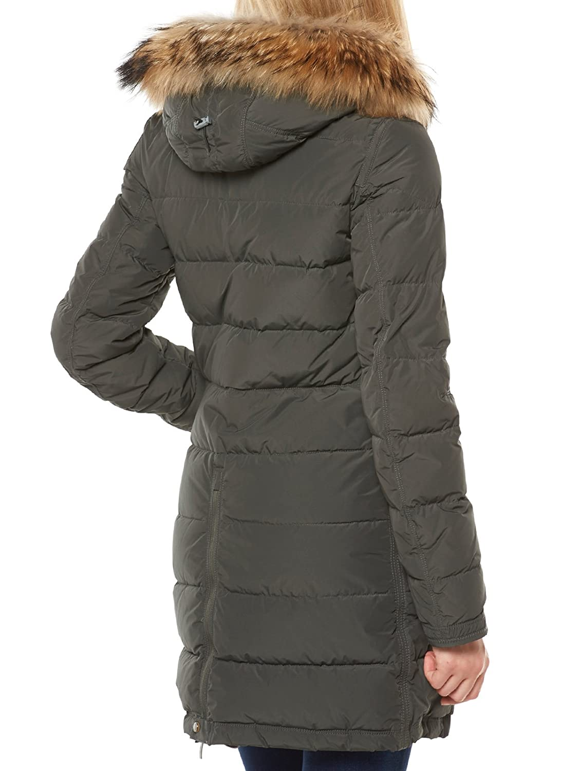 Parajumpers Damen Daunen Kurzmantel LIGHT LONG BEAR olive Gr. L: Amazon.fr: Vêtements et accessoires