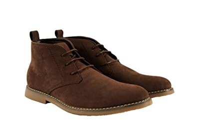 Miko Lotti Men's Desert Boot Chukkas, Brown, Size 8