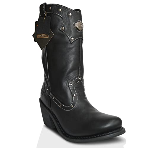 Harley Davidson, Stivali donna Nero, 41 13 EU: Amazon.it