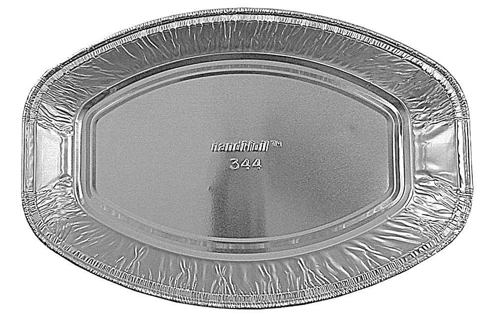 Handi-Foil Mini Oval Casserole Aluminum Pan - Disposable 22 oz Container (Pack of 12) by Handi-Foil (Image #2)