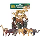 Wild Republic African Animals Polybag, Toy Figurines, Gifts for Gifts, Party Supplies, Sensory Play, Kids Toys, 6 Piece…