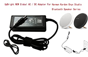 UpBright 19V AC/DC Adapter For Harman Kardon Onyx Studio 4 3 2 1 IV III II I Bluetooth Wireless Portable Speaker System HK ESX2567Q ONYX3 2GP468 NSA40ED-190200 AU38AA-00 19VDC 2A-3.42A Power Supply