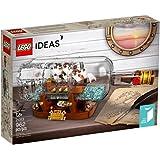 LEGO Ideas Ship in a Bottle (21313) 962 Pieces Building Brick Set