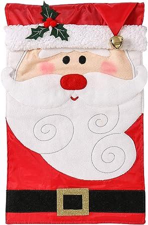Santa Father Christmas Shop House Sign New 3 x 2 Red Merry Christmas Flag