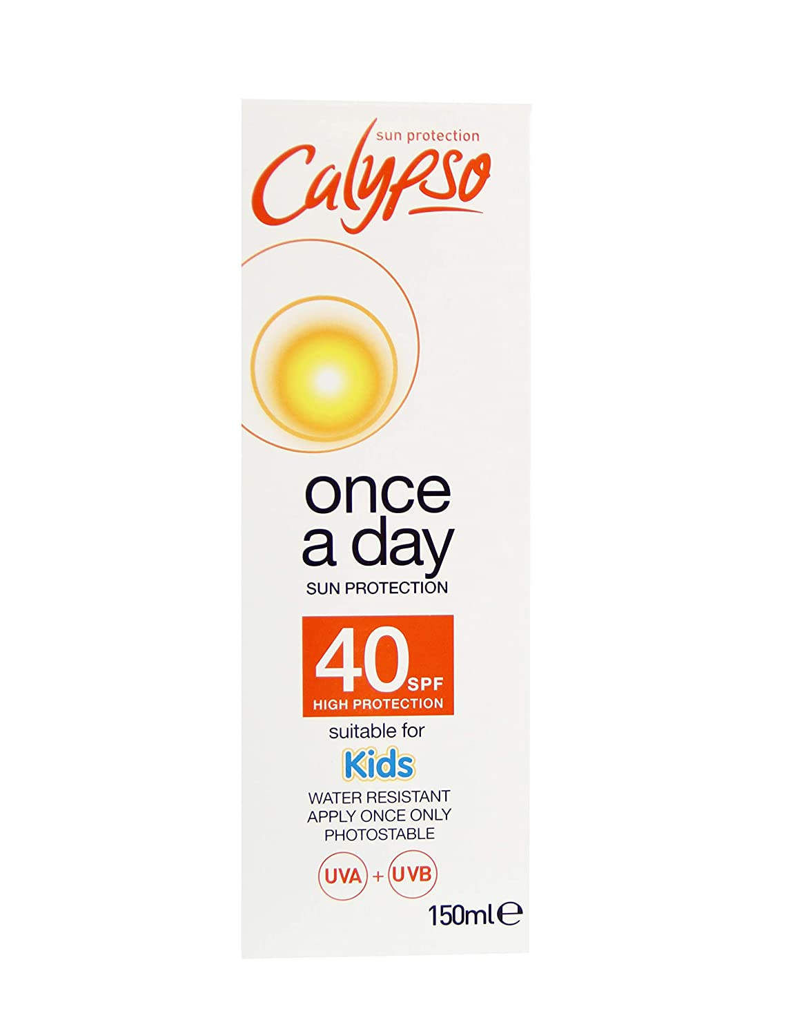 Calypso Once a Day Sun Protection Lotion with SPF 20, 200ml