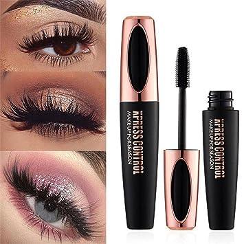 Aolvo 4d Silk Fiber Eyelash Mascara Extra Long Lash Mascara