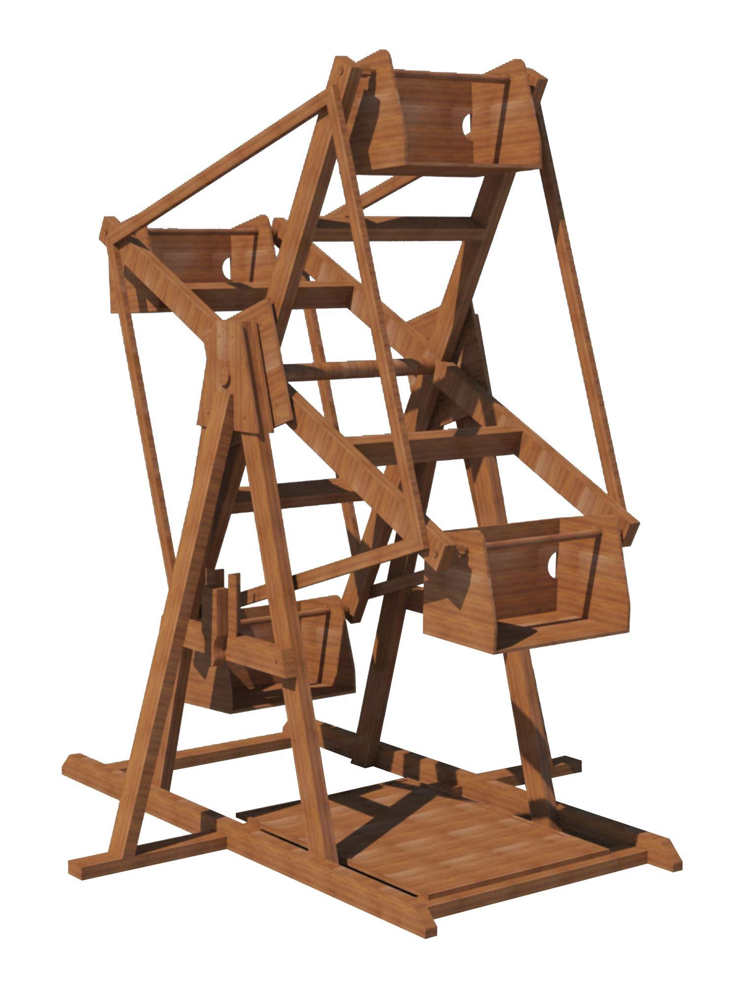 Ferris Wheel Plans Backyard 8' DIY Outdoor Playground Children Toys Woodworking