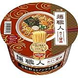 日清食品 日清 麺職人 しょうゆ 89g×12個