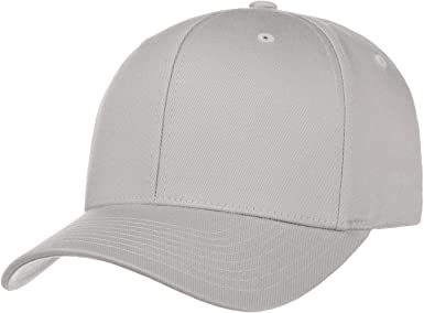 Gorra Flexfit Spandex gorragorra de baseball (S/M (54-57) - plata ...