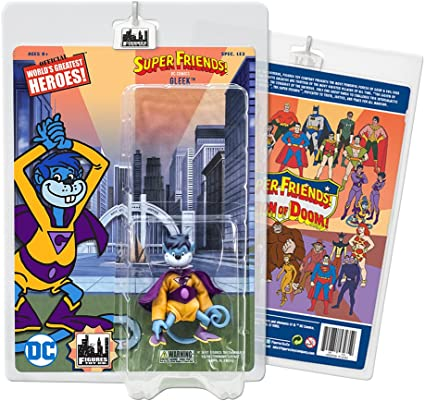 Gleek Super Friends 8 Inch Retro Action Figures Series Variants