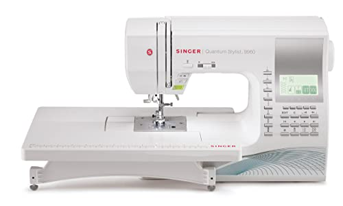 Best Singer sewing machine for seamstress: SINGER 9960 Review