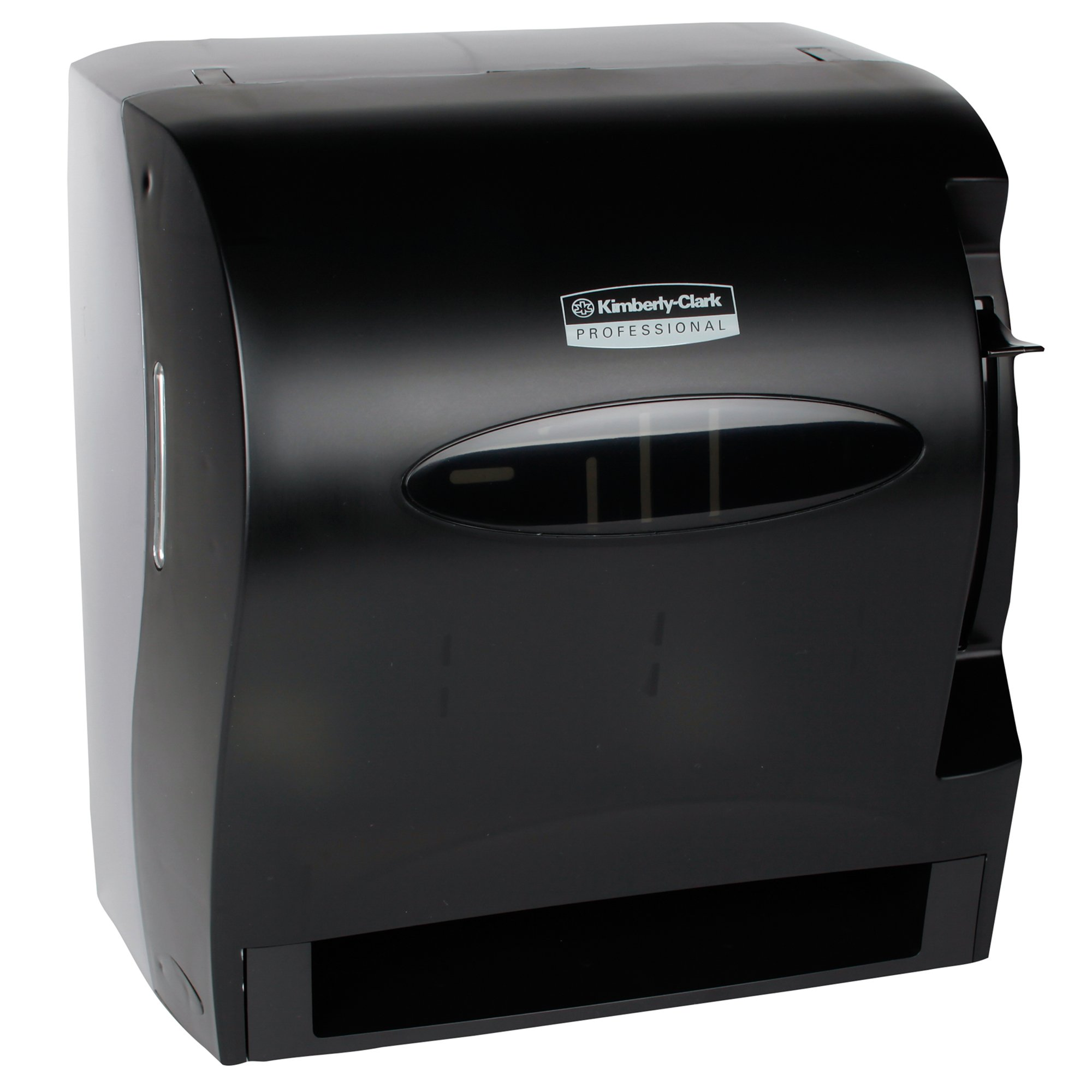 Kimberly Clark Levermatic Roll Paper Towels Dispenser (09765), Manual, Smoke (Black) by Kimberly-Clark Professional (Image #1)