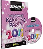 Zoom Karaoke DVD - The Ultimate Karaoke Party 2017 - 60 Songs