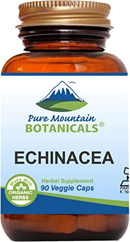 Echinacea Capsules Echinacea Supplement