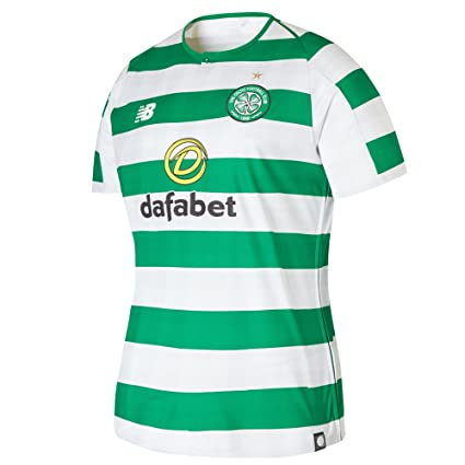 Image Unavailable. Image not available for. Color  New Balance 2018-2019  Celtic Home Ladies Football Soccer T-Shirt Jersey b167772df