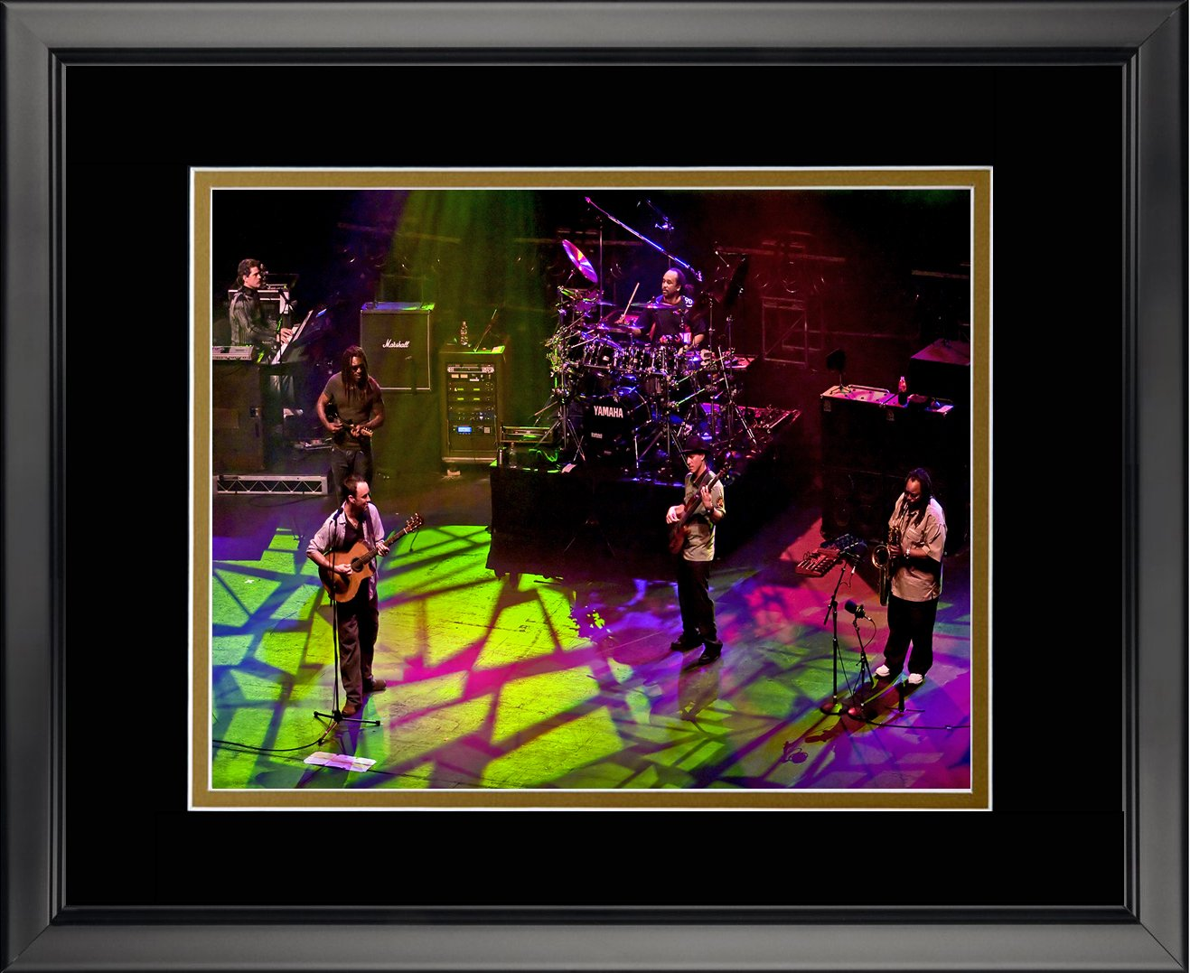 Legends Never Die Dave Matthews Band Double Matted Photo Frame, 16' x 20'