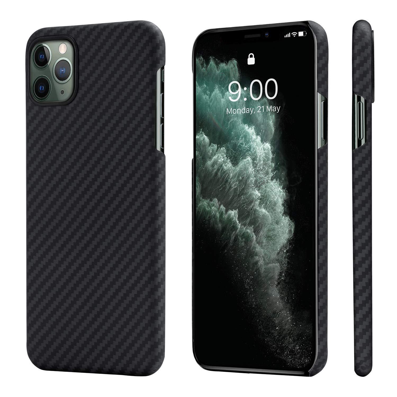 Funda Para iPhone 11 Pro Estilo Fibra De Carbono, Pitaka