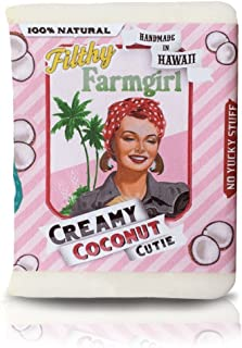 product image for Creamy Coconut Cutie BAR SOAP Safflower Coconut Soy by Filthy Farmgirl