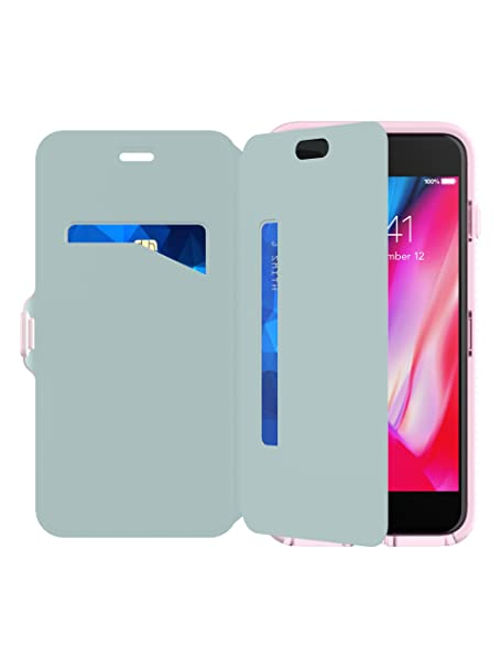 wholesale dealer 3a9c1 48dc7 Tech21 Evo Wallet Case for Apple iPhone 7+/8+ Pink