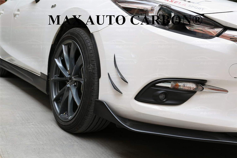 MAX AUTO CARBON Voll-Carbon Canards Flaps Frontspoiler passend f/ür 1er 2er 3er 4er M2M3M4 M-Paket