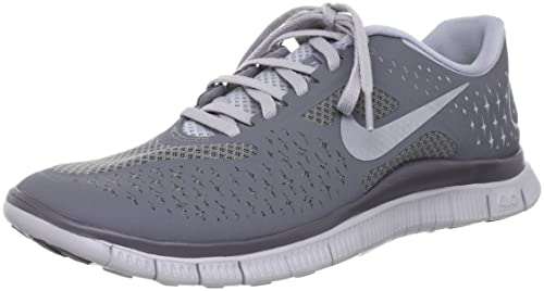 NIKE Free 4.0 v2 Mens Running Shoes 511472-002 Wolf Grey 7.5 M US