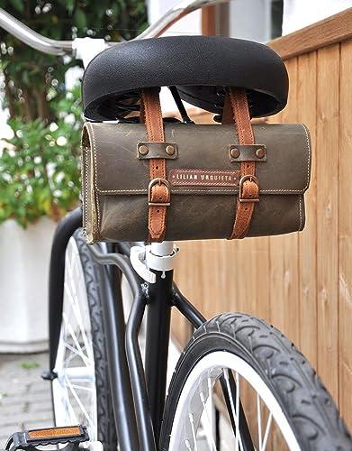 Alforja CYCLING, Alforjas en Piel de Bicicleta, Alforja de Cuero ...