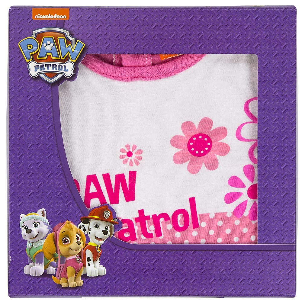 Paw Patrol Infant//Baby Girls Sleepsuits with Footies Packed in Gift Box 9-24 Months