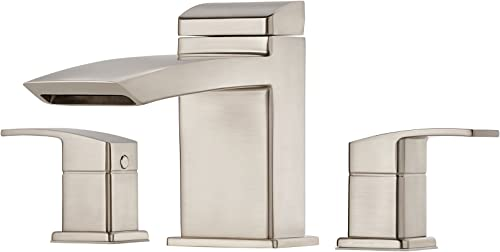 Pfister RT65D1K Kenzo Roman Tub Faucet with Trim Only, Brushed Nickel