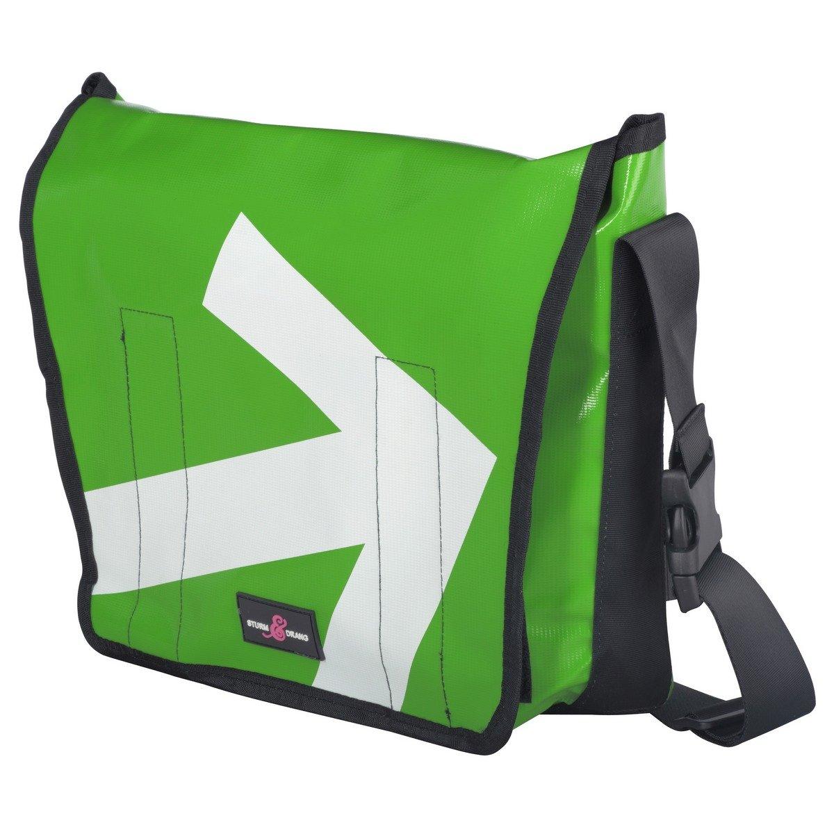 Maxi borsa messenger bag in tela cerata Sturm & Drang