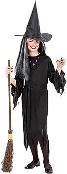 WIDMANN Widman - Disfraz de halloween bruja para niña, talla 8 ...