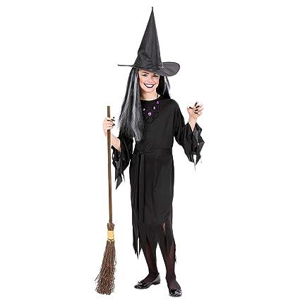 WIDMANN Widman - Disfraz de halloween bruja para niña, talla 11-13 años