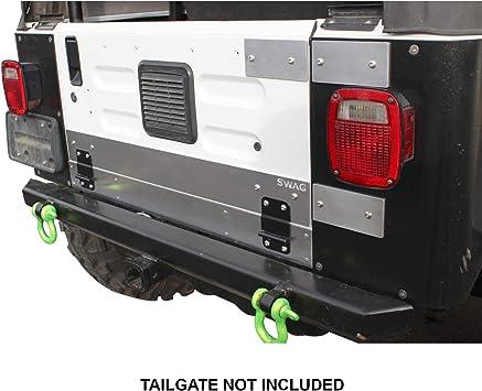 SWAG Off Road 2003-06 TJ-LJ  Drop Down Tailgate Conversion Kit