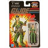 "G.I. JOE Hasbro 25th Anniversary 3 3/4"" Wave 2 Action Figure Covert Operations Lady Jaye"