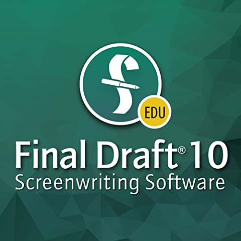 Final Draft 10 Educational Version (Mac) [Download] (Educational Software)