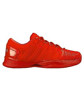 Zapatilla de tenis y padel Kswiss Hypercourt 2.0 HB Red Monochrome - 45 EU: Amazon.es: Deportes y aire libre