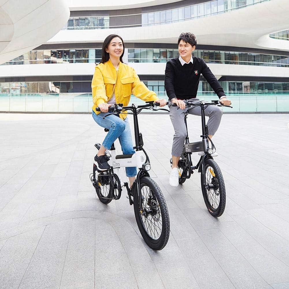 Dynamicoz Bicicleta eléctrica Plegable Bicicleta eléctrica de 20 ...