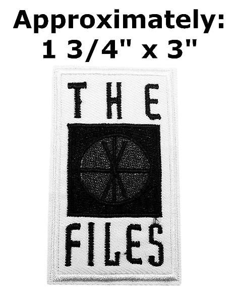 X-Files serie de televisión Logo tema espacio y UFO ...
