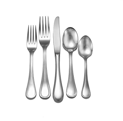 Amazoncom Liberty Tabletop Pearl 65 Piece 1810 Flatware Set