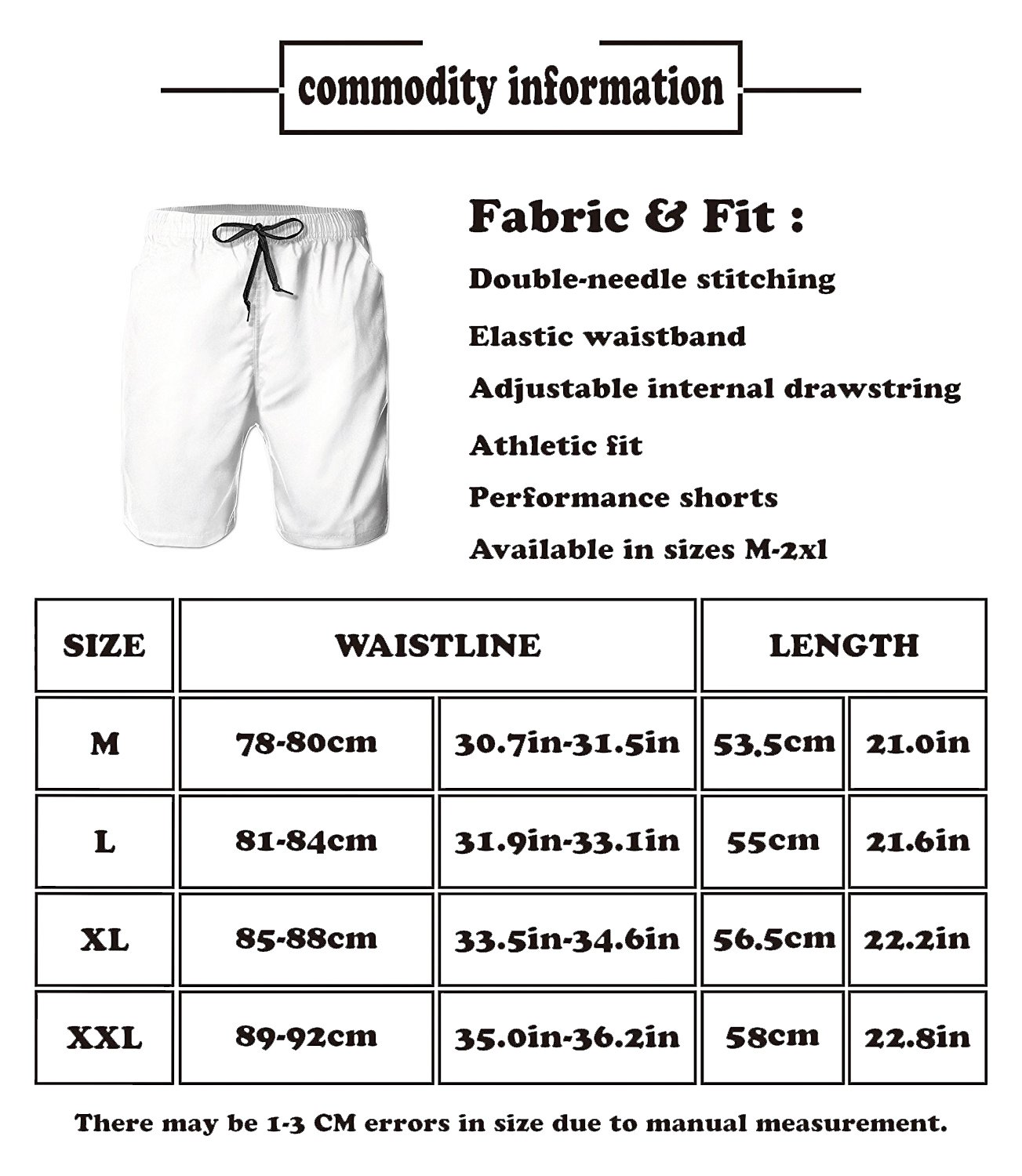 Hdecrr FFRE Flame Electric Guitar Men Summer Casual Board Shorts Quick Dry Beach Shorts with Pockets