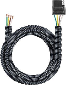 [DIAGRAM_5LK]  Amazon.com: CURT 55411 Vehicle-Side Custom 4-Pin Trailer Wiring Harness for  Select Chevrolet, GMC, Oldsmobile SUVs, Vans: Automotive | Chevrolet Trailer Wiring Harness |  | Amazon.com