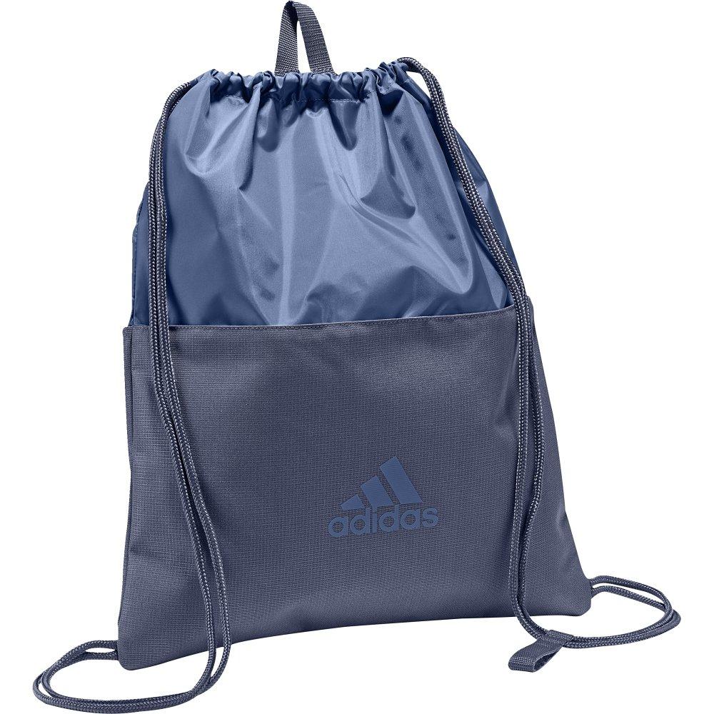 adidas 3S Gymbag, Mochila Unisex Adultos, Azul (Azretr/Azretr/Indnob), 24x15x45 cm (W x H x L)