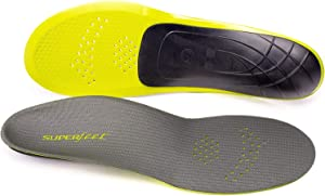 Superfeet Unisex-Adult Pain Relief Strong Thin Insoles Performance Athletic Tight Casual Shoes M
