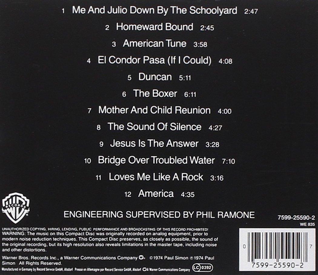 Paul Simon in Concert: Live Rhymin' by Warner Bros (Image #1)