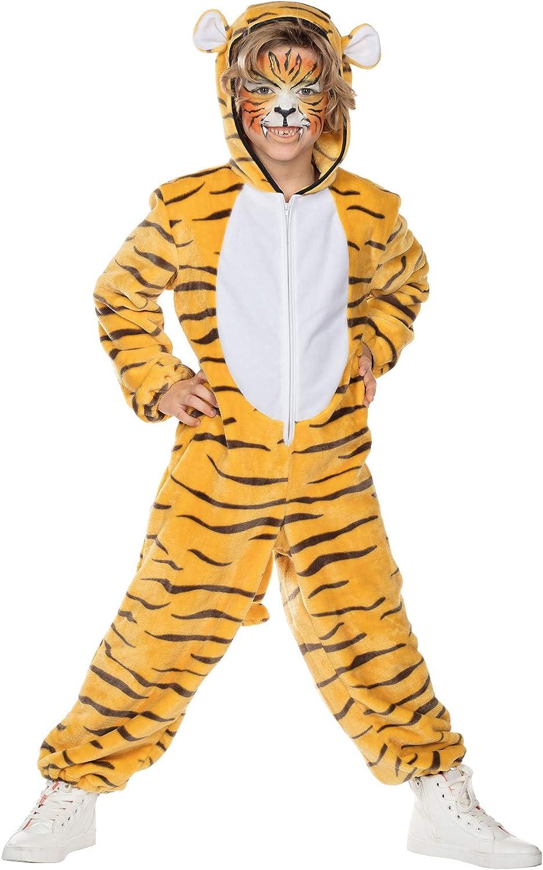 Rubies Disfraz para niños Bengala Tigre Amar Mono Disfraz Animal ...