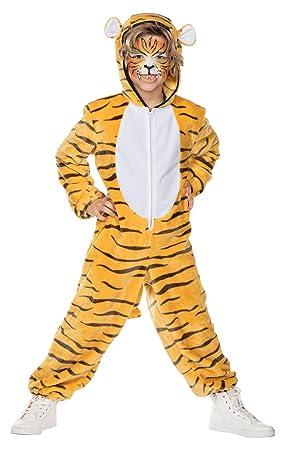 Rubies Disfraz para niños Bengala Tigre Amar Mono Disfraz ...
